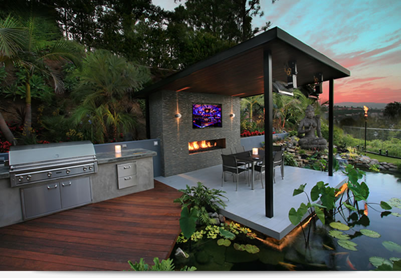 LA Pool Builders. Outdoor Living Designers